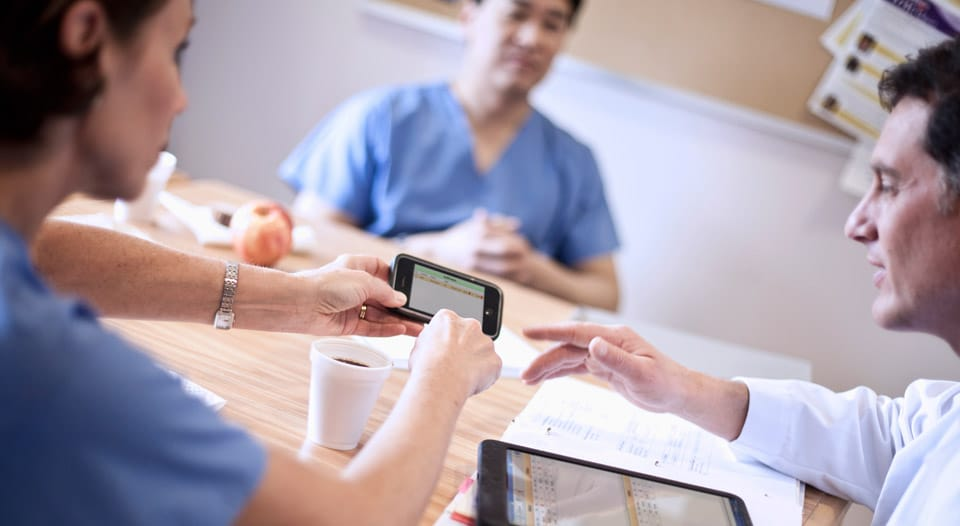 mobile healthcare for clinical collaboration