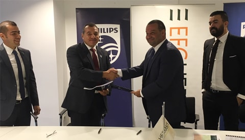 Collaboration between EFG Hermes Leasing and Philips
